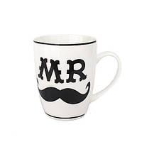 Оригинальная чашка, купить кружку для чая и кофе Youngpig «Mr» (2107)