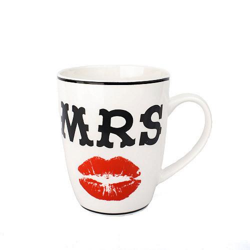 Оригинальная чашка, купить кружку для чая и кофе Youngpig «Mrs» (2165)