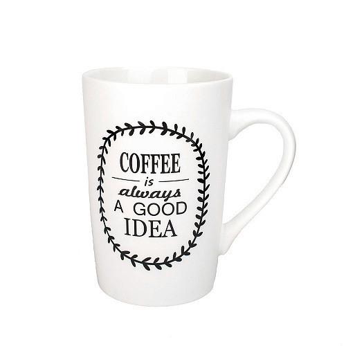 Оригинальная чашка, купить кружку для чая и кофе Youngpig «Coffee is a good idea» (2162)