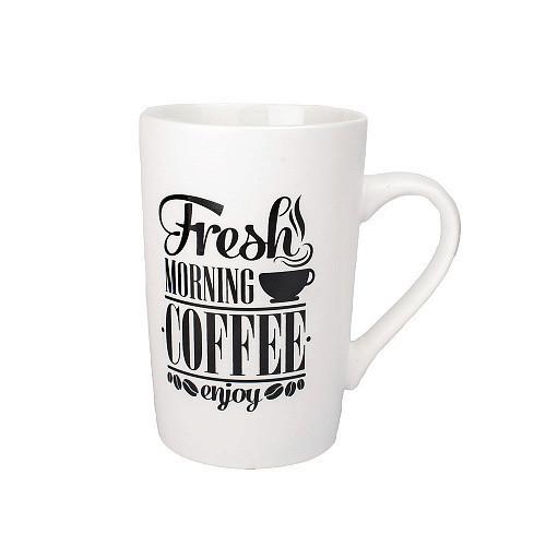 Оригинальная чашка, купить кружку для чая и кофе Youngpig «Fresh morning coffee» (2164)