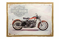 Картина Harley Davidson темный