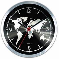 Часы настенные Youngpig «Карта мира» (197)