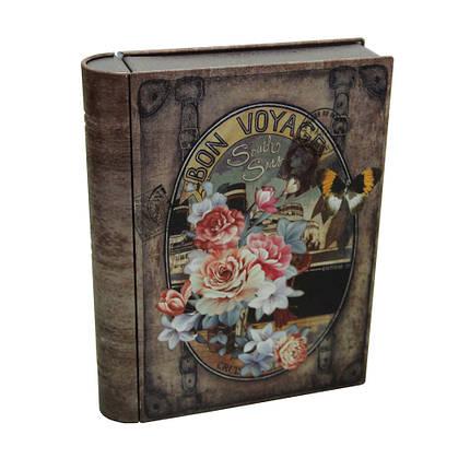 Банка-книга для хранения сыпучих и мелочей Бон Вояж, 300г , фото 2