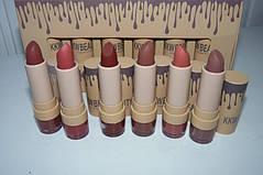 KKW BEAUTY kylie matte lipstick набор 6 матовых помад, фото 3
