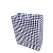 """Подарунковий паперовий пакет, оригінальна упаковка для подарунка """"Стиль"""" синий"""