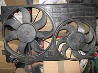 Диффузор радиатора в сборе Volkswagen Passat B6, 2.0 FSI, BUY, JUC 2005-2010, 1K0121207T