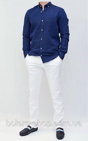 Рубашка мужская темно-синяя Harmony Blaine, фото 2
