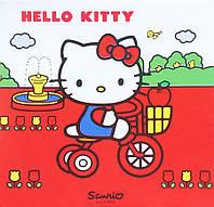 Картина раскраска Hello Kitty на велопрогулке (HK14218K) 25 х 30 см