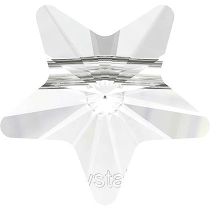 Бусины из хрусталя Swarovski Звезда 5714 Crystal