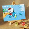 Набор для рисования MENGLEI Hello Kitti на дельфине (MA070) 10 х 15 см
