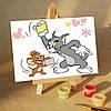 Картина по номерам MENGLEI Том и Джери (MA139) 10 х 15 см