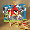 Картина по номерам MENGLEI Angry Birds 17 (MA206) 10 х 15 см