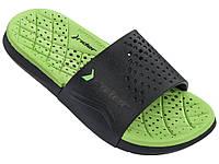 Детские тапочки Rider Infinity Slide Kids Black/Green 11304-24033