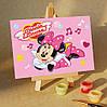 Картина по номерам MENGLEI Мышка Минни (MA219) 10 х 15 см
