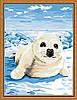 Раскраска по цифрам MENGLEI На льдине (ME093) 30 х 40 см