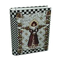 Банка-книга для хранения мелочей и сыпучих продуктов Зазеркалье, 20х15,5х4см, 300г