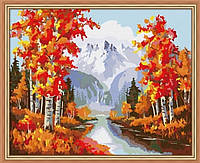 Картина по номерам MENGLEI Золотая осень (MG013) 40 х 50 см, фото 1