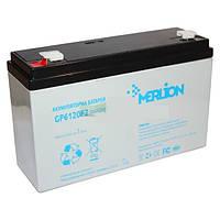 Аккумулятор 6В 12Ач GP612F2 MERLION