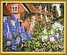 Набор для рисования MENGLEI Цветы у дома (MG014) 40 х 50 см