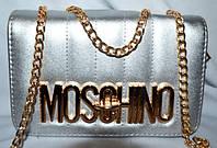 Женский  клатч Moschino на цепочке