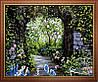 Набор для рисования MENGLEI Романтический сад (MG015) 40 х 50 см