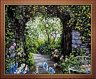 Набор для рисования MENGLEI Романтический сад (MG015) 40 х 50 см, фото 1