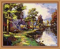 Набор для рисования MENGLEI Озеро Хоумтаун худ. Кинкейд Томас (MG010) 40 х 50 см, фото 1