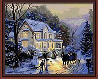 Набор для рисования MENGLEI Домой на каникулы худ. Кинкейд Томас (MG012) 40 х 50 см, фото 1