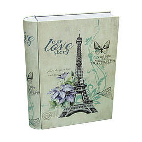 Банка-книжка для хранения мелочей и сыпучих Париж, 300г
