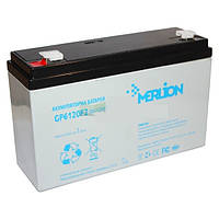 Аккумулятор 6В 10Ач GP610F2 MERLION