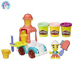 Игровой набор с пластилином Play-Doh Грузовичок с мороженым B3417 Play-Doh Town Ice Cream Truck