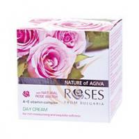 Крем денний для обличчя AGIVA ROSES комплекс вітамінів А+Е 50 мл