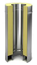 Труба для дымохода  с термоизоляцией (сэндвич), фото 3