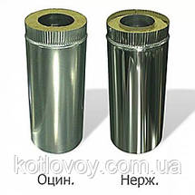 Труба для дымохода  с термоизоляцией (сэндвич), фото 2