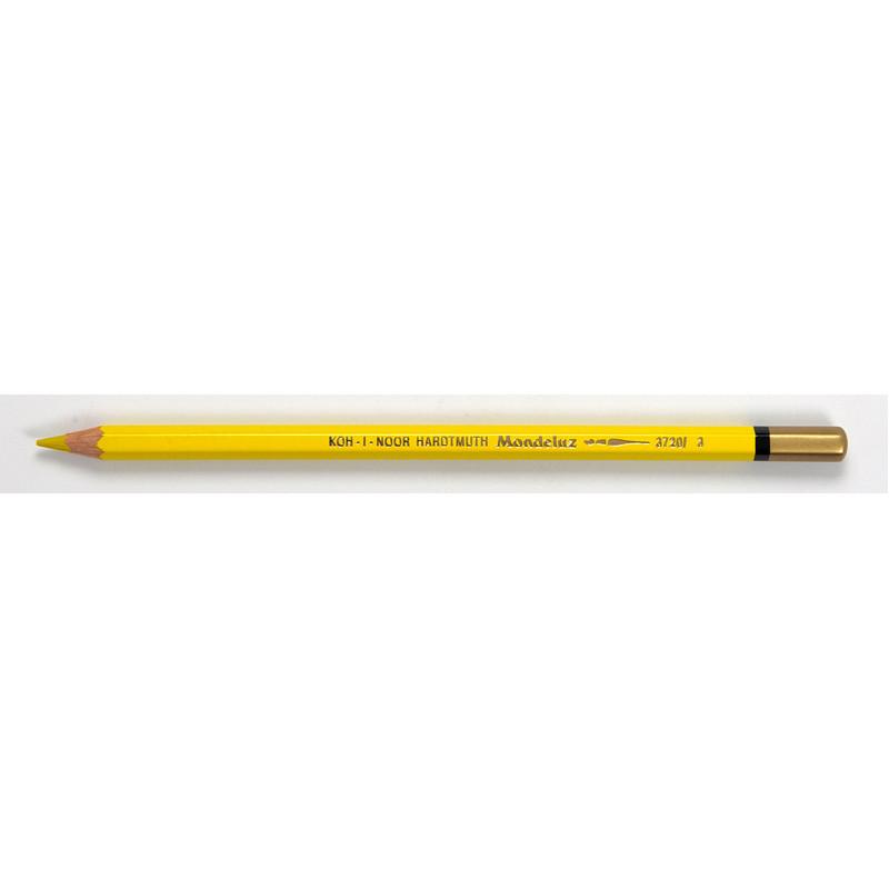 Карандаш акварельный Koh-i-noor Mondeluz хром желтый chrome yellow (3720/3)