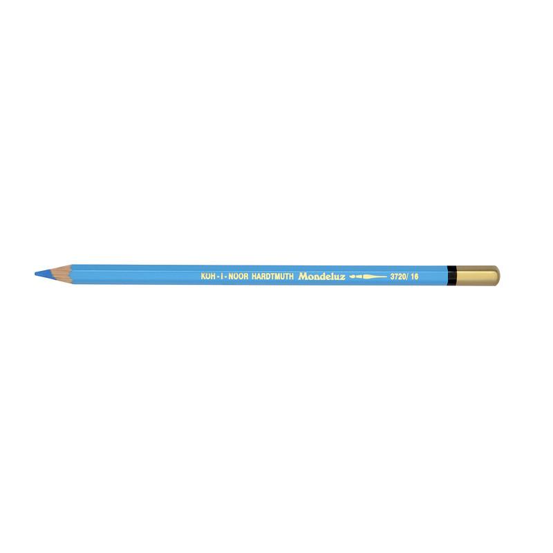 Олівець акварельний Koh-i-noor Mondeluz блакитний синій cerulean blue (3720/16)