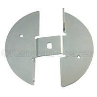 Пластина ножа для садового измельчителя веток Bosch AXT Rapid 180/200/2000/2200 (F016L64663)