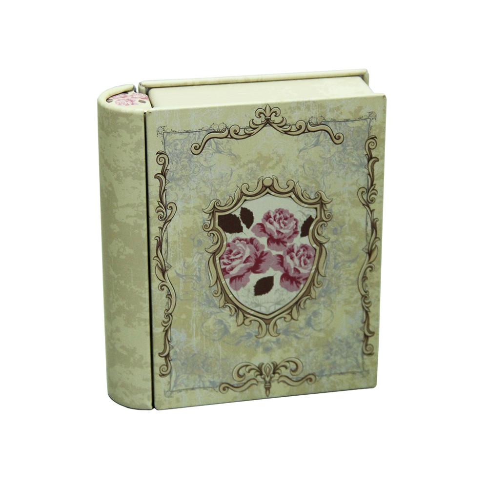 Банка книга для хранения мелочей и сыпучих Поэзия, 11х9х2,8см, 150г
