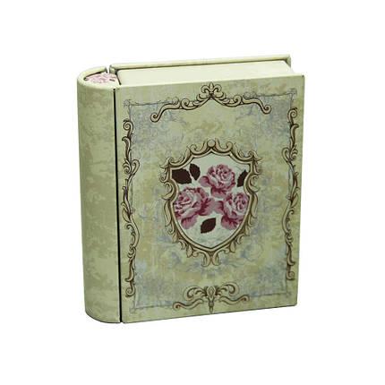Банка книга для хранения мелочей и сыпучих Поэзия, 11х9х2,8см, 150г , фото 2