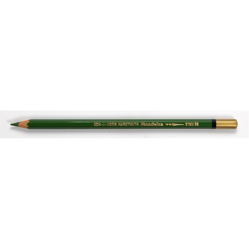 Карандаш акварельный Koh-i-noor Mondeluz зеленый луг meadow green (3720/25)