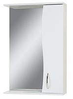 Зеркало шкаф для ванной ZL-55-ХВ Эконом