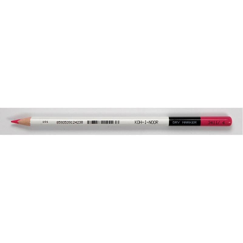 Карандаш цветной Koh-i-noor розовый грифель 3.8мм 3411004008KS