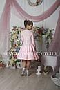 Рейтинговое платье Бейсик для бальных танцев Sevenstore 9103 Нежно розовый, фото 3