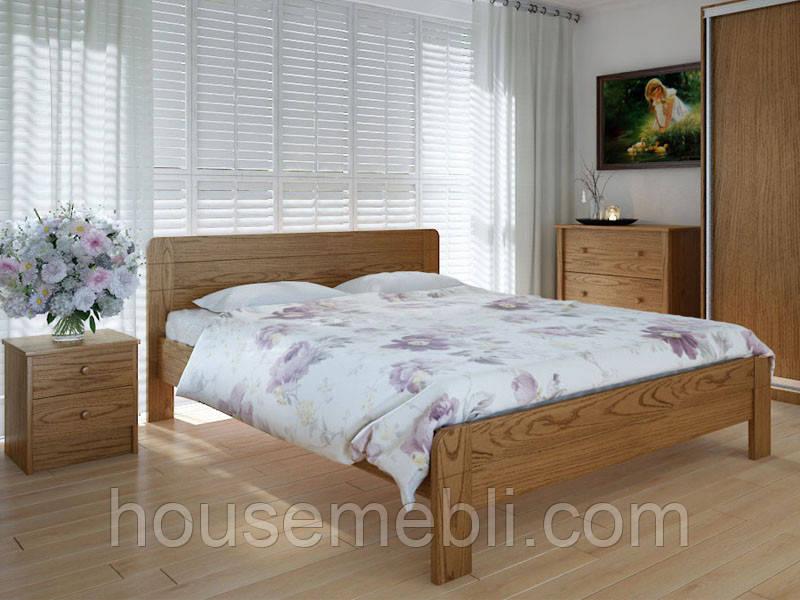 Кровать MeblikOff Эко плюс (120*190) дуб
