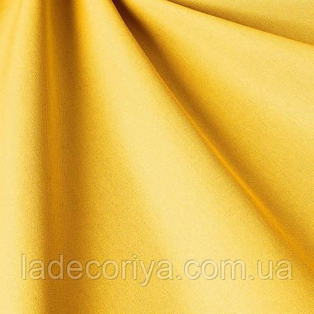Однотонная уличная ткань рапсово-желтого   цвета Испания