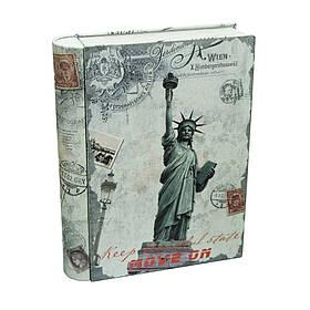 Банка-книга для мелочей и сыпучих продуктов Свобода, 20х15,5х4см, 300г