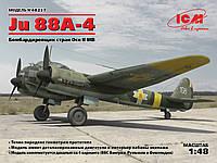 Бомбардировщик  Ju 88A-4 1/48 ICM 48237