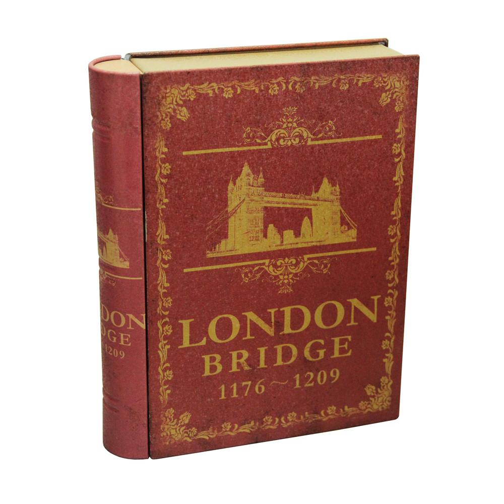 Банка-книжка для хранения мелочей и сыпучих продуктов Лондон, 20х15,5х4см,