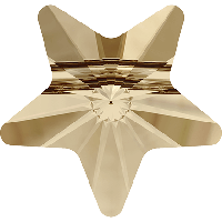 Бусины Swarovski из хрусталя 5714 Crystal Golden Shadow