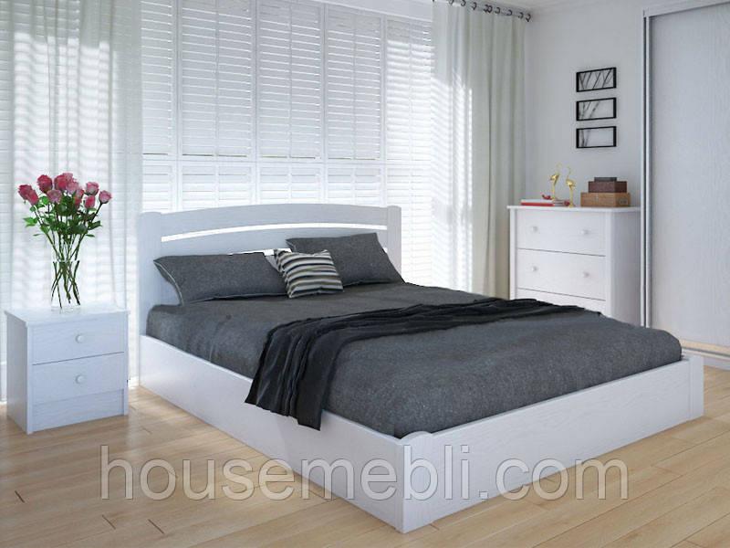 Кровать MeblikOff Грин с механизмом (120*200) ясень